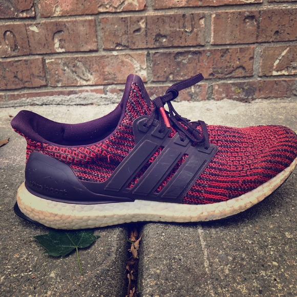 adidas Shoes | Noble Red Ultraboost 4